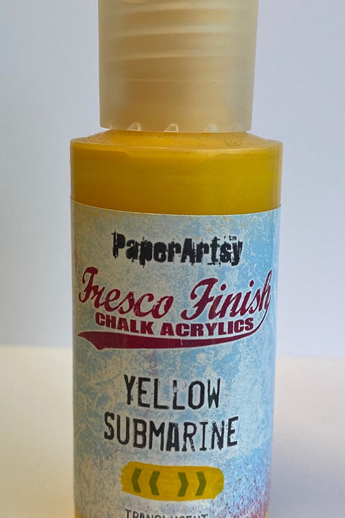Yellow Submarine Paint by PaperArtsy