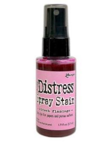 Kitsch Flamingo Distress Spray Stain