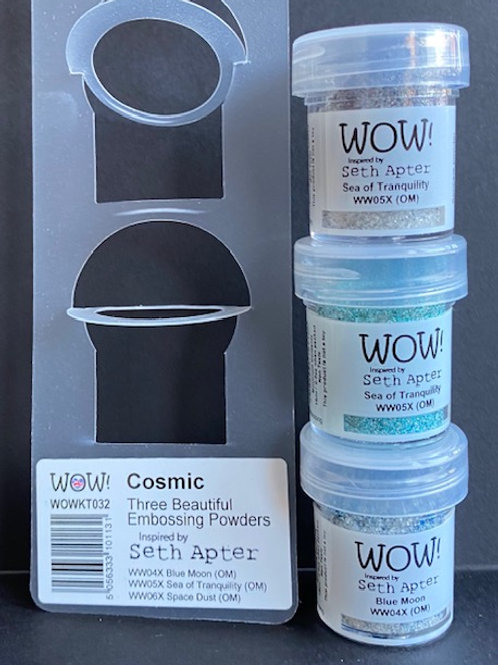 Trio Pack Embossing Powders - Cosmic