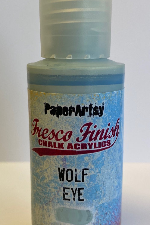 Wolf Eye Paint by PaperArtsy