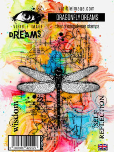 Dragonfly Dreams Stamp Set by Visible Image