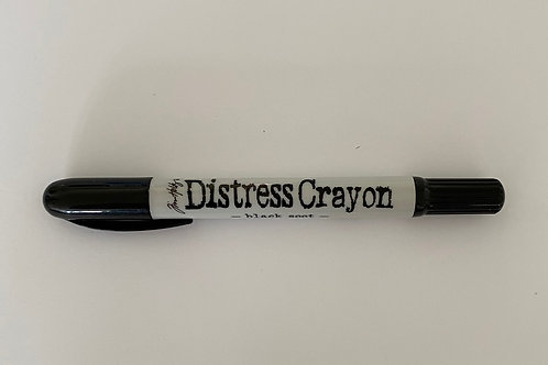 DISTRESS CRAYON - BLACK SOOT