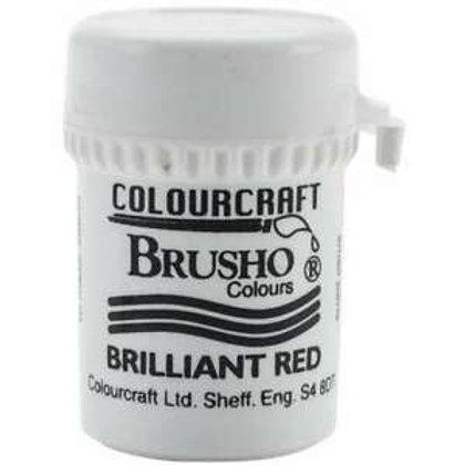 Brusho Brilliant Red