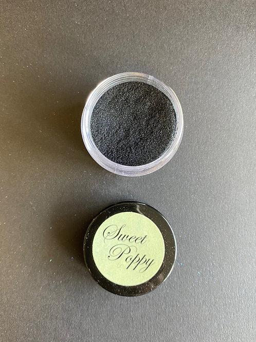 SWEET POPPY SUPER FINE GLITTER - BLACK