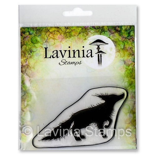 Bandit Stamp by Lavinia