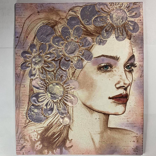 Canvas Art Play Workshop with Sharon Saturday 30th January 2021 10:30am GMT