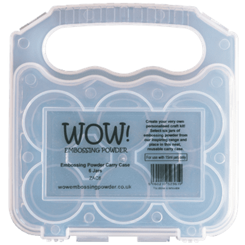 Wow Embossing Powder & Glitter Carry Case