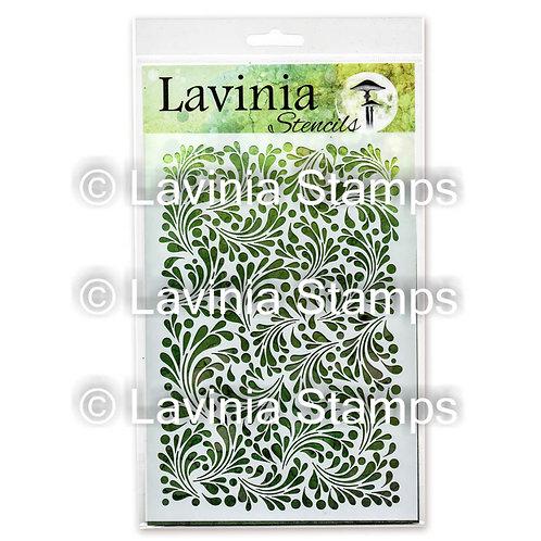 Feather Leaf Stencil by Lavinia