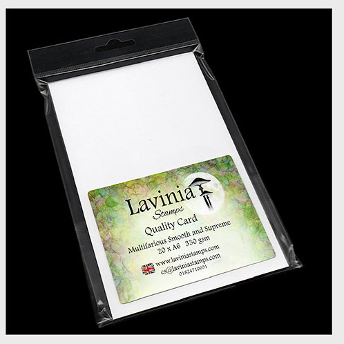 A6 Multifarious Smooth Card x 20 Sheets by Lavinia