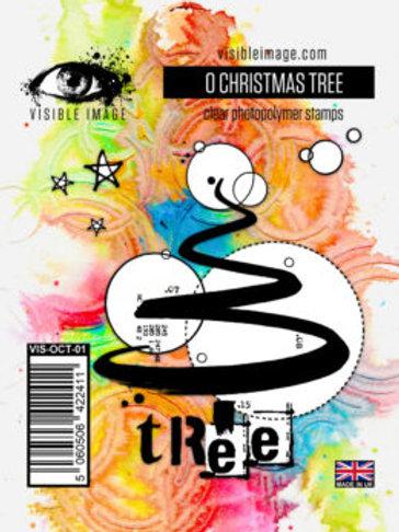 O Christmas Tree Stamp - Visible Image