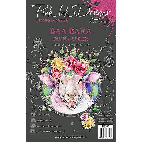 Baa-Bara Stamp Set by Pink Ink