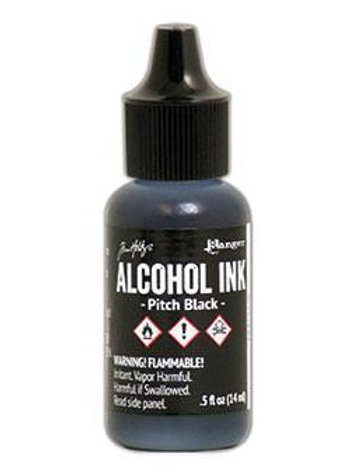 ALCOHOL INK - PITCH BLACK