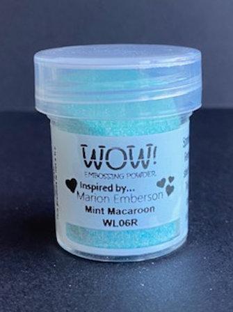 Embossing Powder - Mint Macaroon