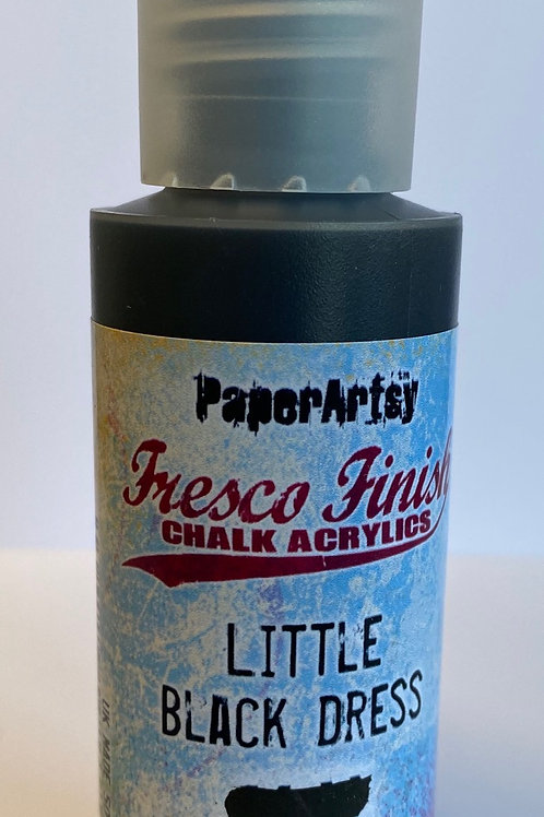 Little Black Dress Paint by PaperArtsy