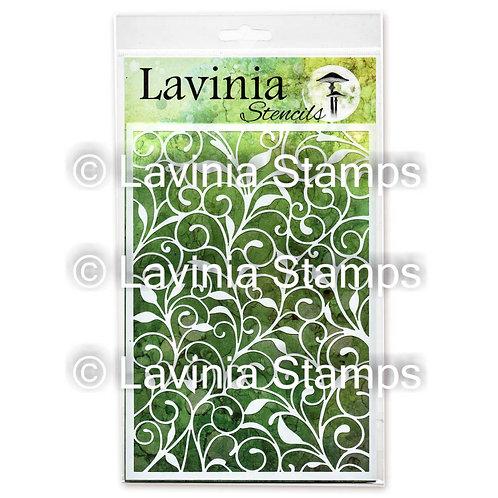 Leaf Trails Stencil by Lavinia
