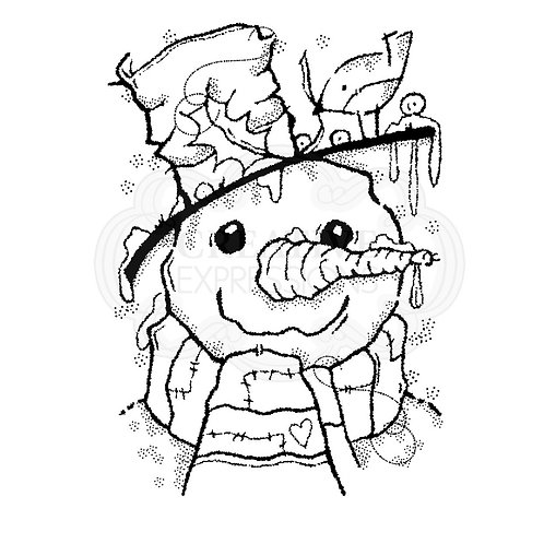 Mr Frosty Stamp by Woodware