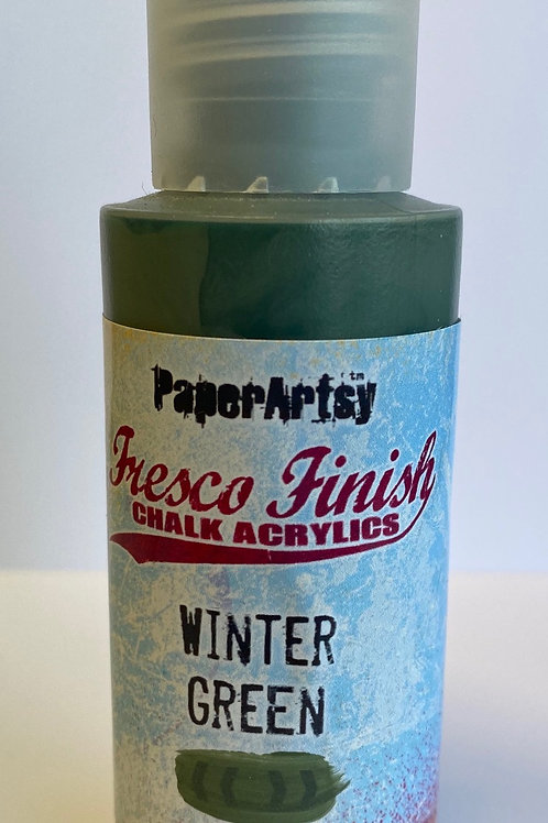 Winter Green Paint by PaperArtsy
