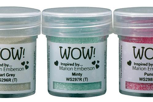 Pick me up - WOW embossing powders Trios