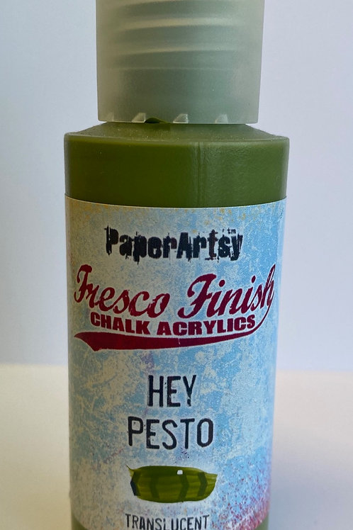 Hey Pesto Paint by PaperArtsy