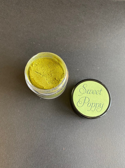OLIVE GOLD SWEET POPPY MICA POWDER -