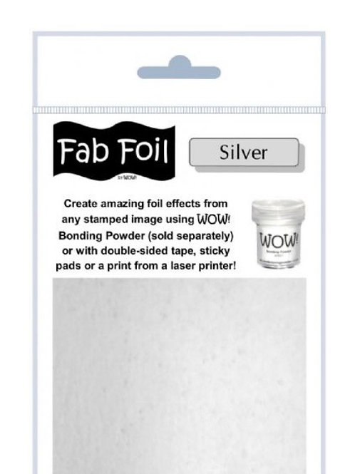 WOW FAB FOIL - SILVER