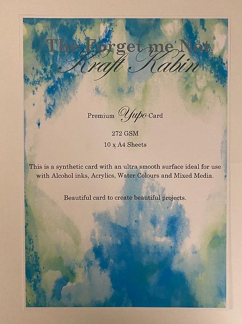 Premium Yupo Card A4 10 Sheets by FMN