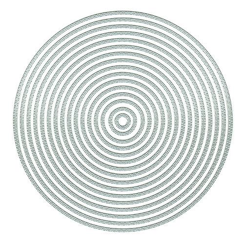 Stitch Dot Circles Nesting Dies by Presscut