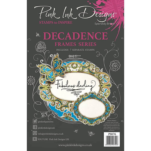 Decadence Stamp by Pink Ink