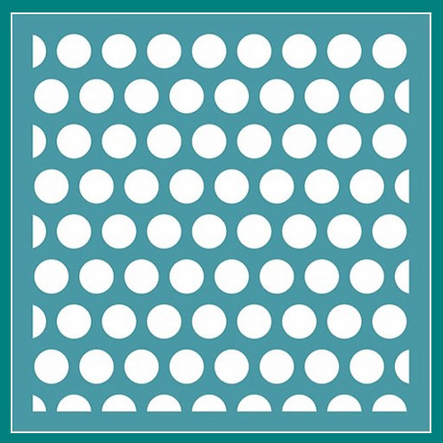 Large Polka Dot Stencil by Funky Fossil