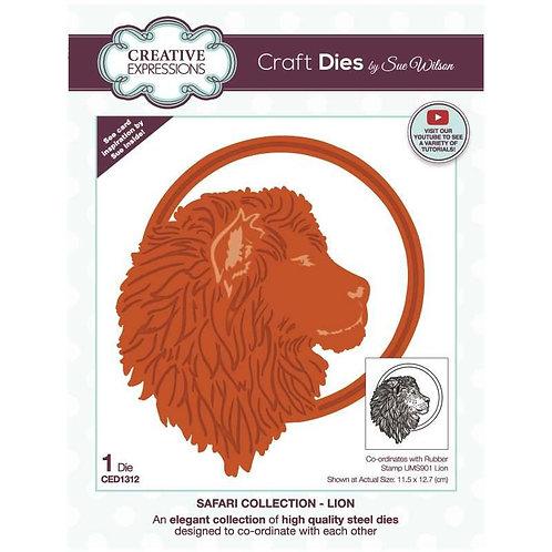 Lion Craft Die by Sue Wilson