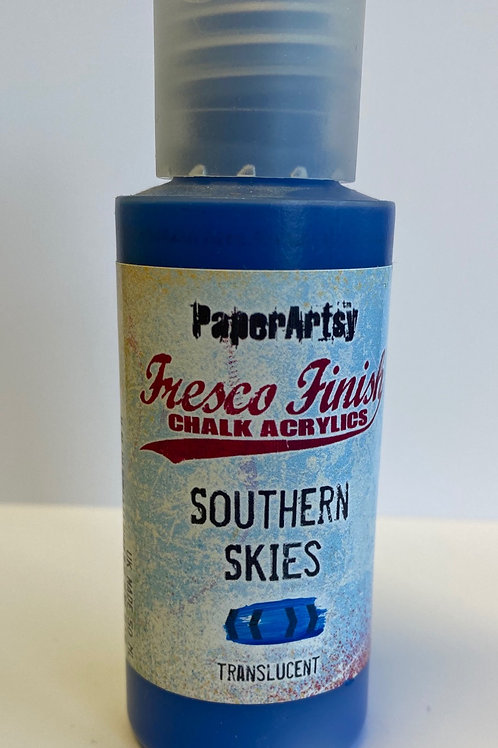 Southern Skies Paint by PaperArtsy