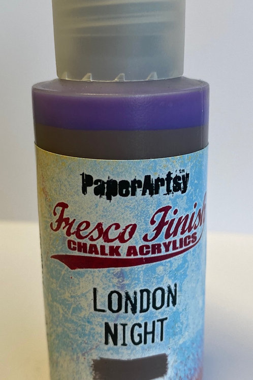 London Night Paint by PaperArtsy