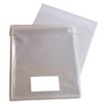 165 x 165mm clear cellophane bags 25 Pack
