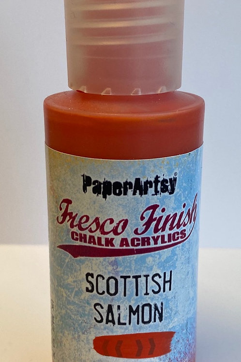 Scottish Salmon Paint by PaperArtsy