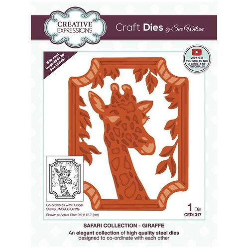 Giraffe Craft Die by Sue Wilson