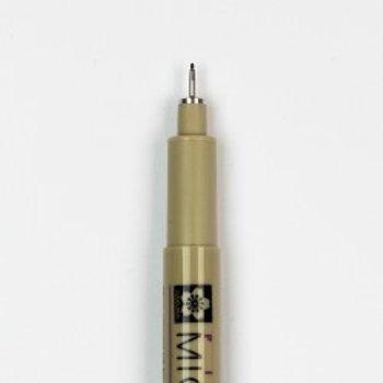 01 Pigma Micron Fineline Pen  0.25mm Black