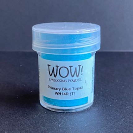 Embossing Powder - Primary Blue Topaz