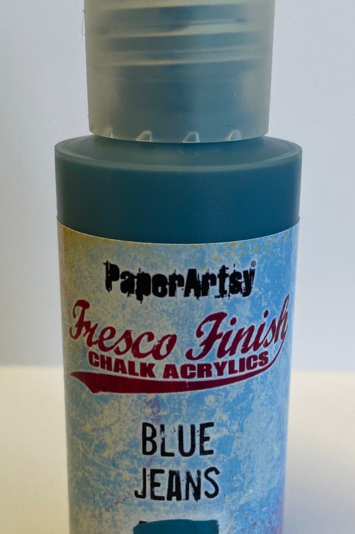 Blue Jeans Paint by PaperArtsy