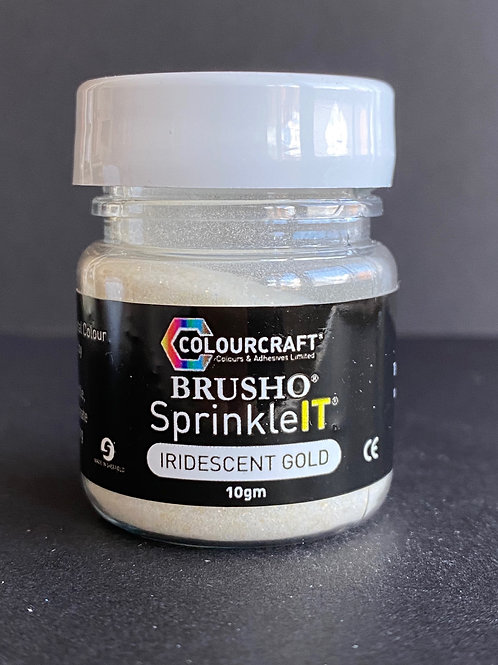 BRUSHO SPRINKLE IT - IRIDESCENT GOLD