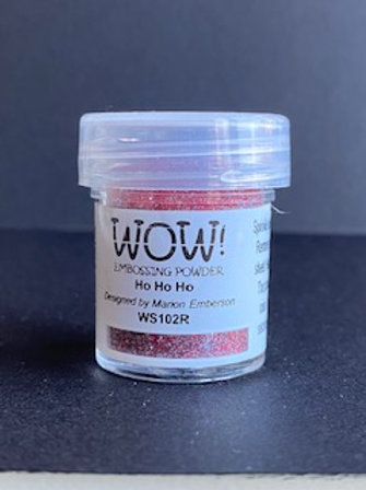 Embossing Powder - Ho Ho Ho