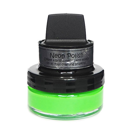 Absinthe Green Neon Polish by Cosmic Shimmer