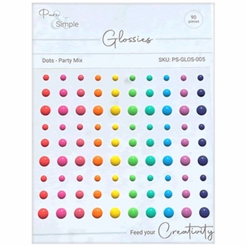 Julie Hickey Glossies Dots -Party Mix