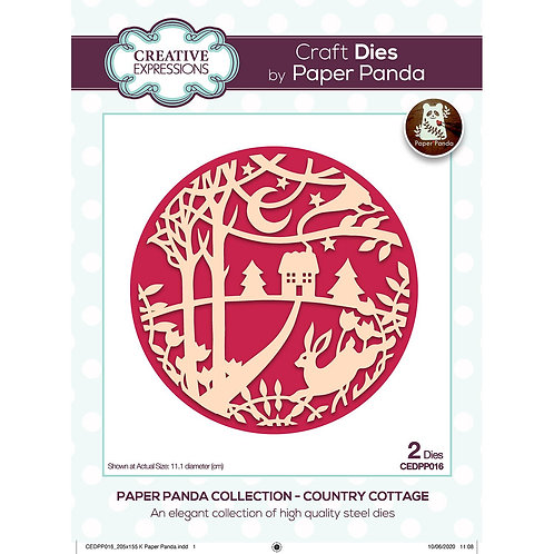 Country Cottage Die by Paper Panda