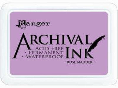 Archival Ink Pad - Rose Madder