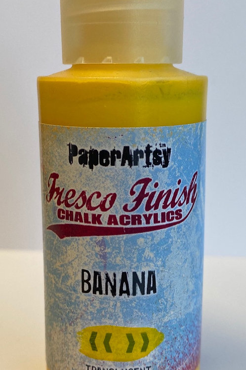 Banana Paint by PaperArtsy