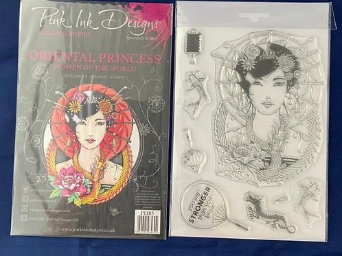 Pink Ink Designs - Oriental Princess, Women of the world