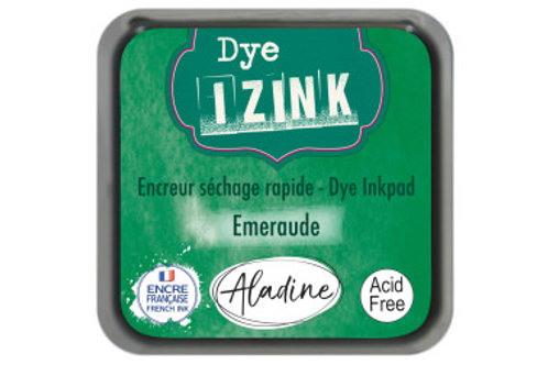 Emeraude - Emerald Green Izink Dye Ink Pad