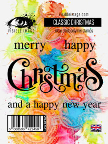 Classic Christmas Stamp - Visible Image