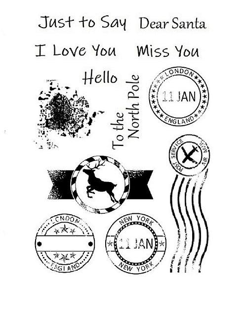 Postmark Stamp Set by Sweet Poppy