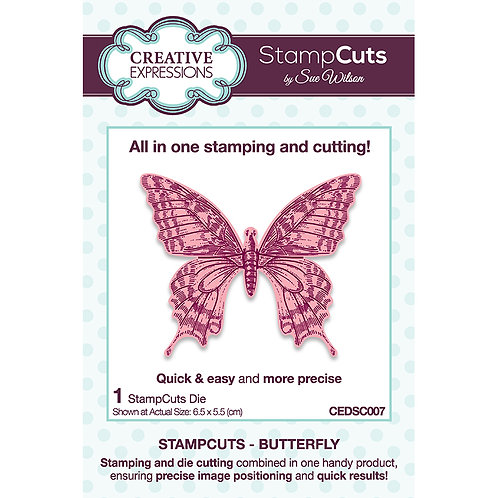 Sue Wilson Butterfly StampCuts Die